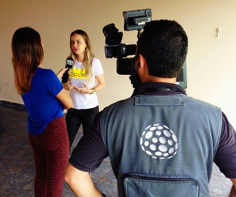 Entrevista para o Jornal do SBT